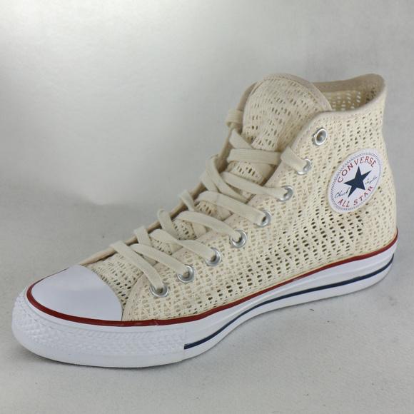 b424d8499853f3 CONVERSE All Star Chuck Taylor Parchment Crochet. Converse.  M 5c3cd5c6409c1599d25406f7. M 5c3cd5c6aa87705ee85b679d.  M 5c3cd5c69519962d1f8f53de